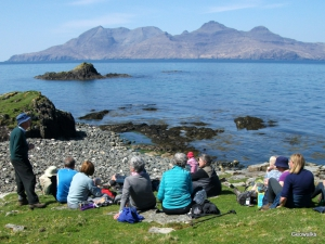 Isle of Eigg - Geowalks Geology Walking Holidays
