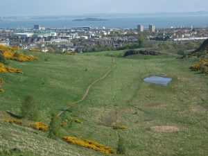 Holyrood Park - Geowalks Geology Tours - Blue Route