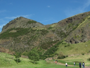 Holyrood Park - Geowalks Geology Tours - Purple Route