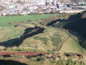 Holyrood Park - Geowalks Geology Tours - Red Route