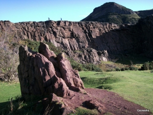 Holyrood Park - Geowalks Geology Tours