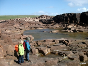 Eshaness, Shetland - Geowalks Geology Walking Holidays